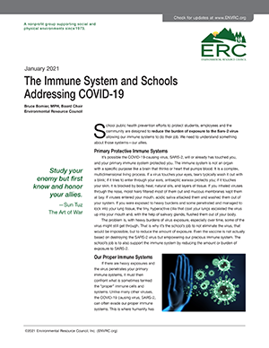 Immune System and Schools
