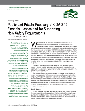 Recovery of Covid 19 Finacial Losses