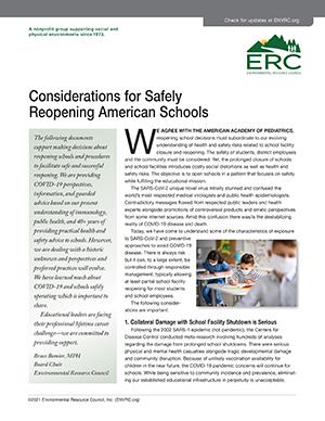 Reopening American Schools