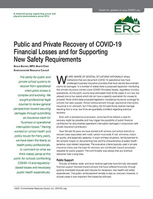 Covid 19 Financial Loss Recovery