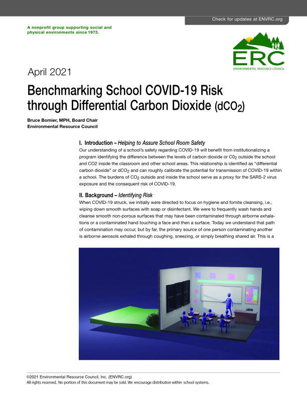 Benchmarking Schools through Carbon Dioxide-May-2021